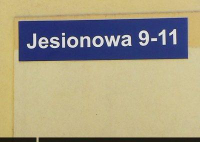 nazwy-ulicy-tablice-adresowe-lubin-polkowice-chojnow-chocianow-scinawa-jawor-legnica-glogow