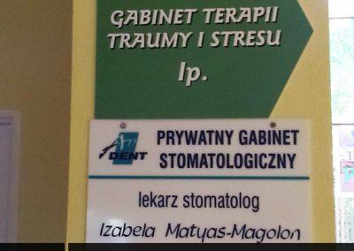 tabliczki-gabinetowe-medyczne-lubin-polkowice-chojnow-chocianow-scinawa-jawor-legnica-glogow